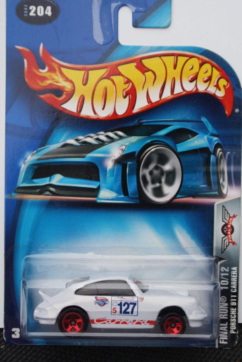 Hot Wheels Porsche carrera - 127 1:64