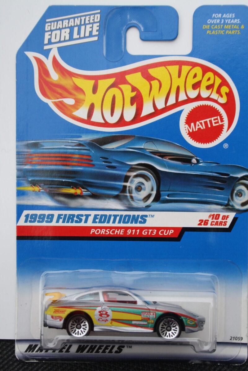 Hot Wheels Porsche 911 gt3 - Cup no8 1:64