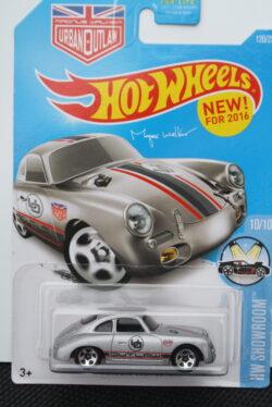 Hot Wheels Porsche 356a outlaw - Grey 1:64