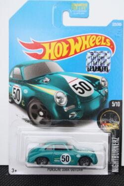 Hot Wheels Porsche 356a outlaw - Green 1:64