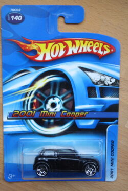 Hot Wheels Mini Cooper 2001 - Black 1:64