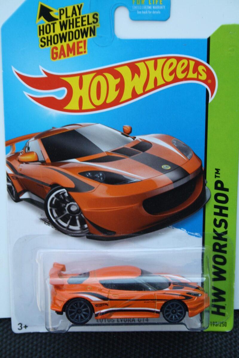 Hot Wheels Lotus Evora GT4 - Orange 1:64