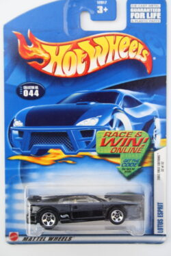 Hot Wheels Lotus  Esprit - Black 1:64