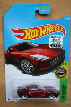 Hot Wheels Aston Martin One-77 - Red 1:64