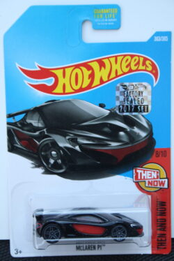 Hot Wheels McLaren P1 - Black 1:64