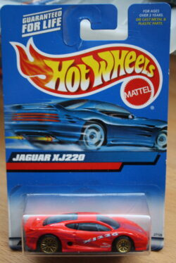 Hot Wheels Jaguar XJ-220 - Red 1:64