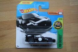Hot Wheels Jaguar F-type project 7 - Black 1:64