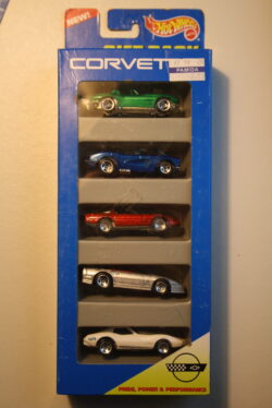 Hot Wheels Chevrolet Corvette - 5-pack 1:64