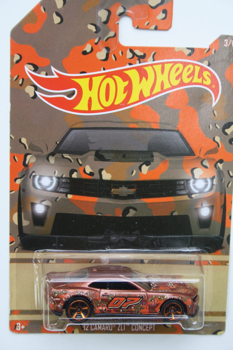 Hot Wheels Chevrolet Camaro ZL1-concept - 1:64