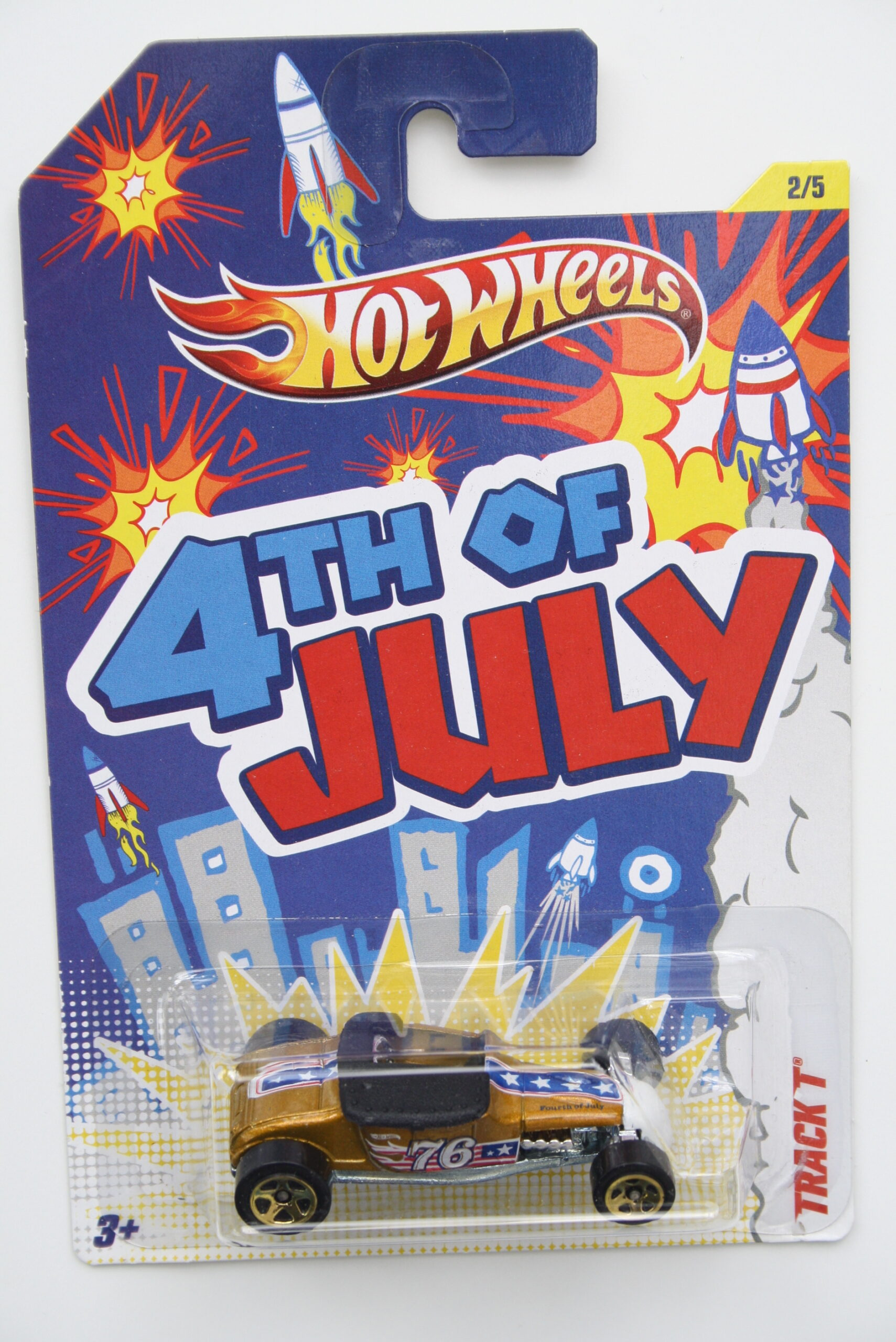 Hot Wheels Track T 4th of July - 4th of July 1:64