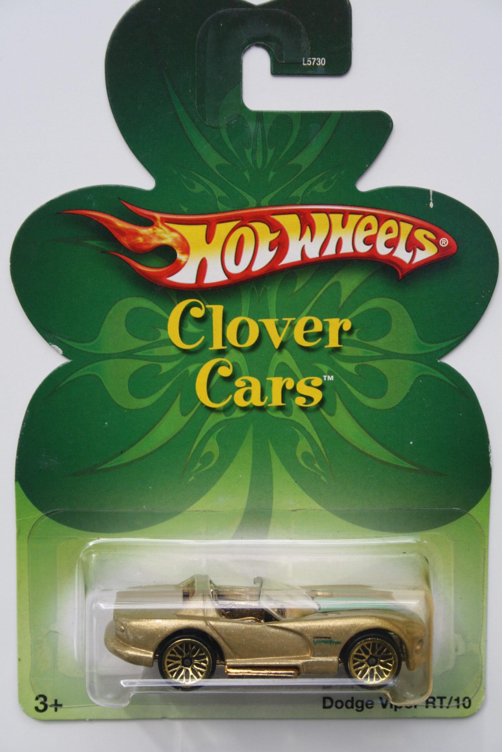 Hot Wheels Dodge  Viper RT10 - Gold Clover cars 1:64