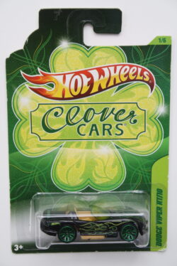 Hot Wheels Dodge  Viper RT10 - Black Clover Cars 1:64