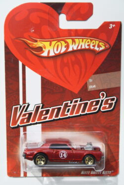 Hot Wheels Nitty Gritty Kitty Brown Valentine-s 1:64
