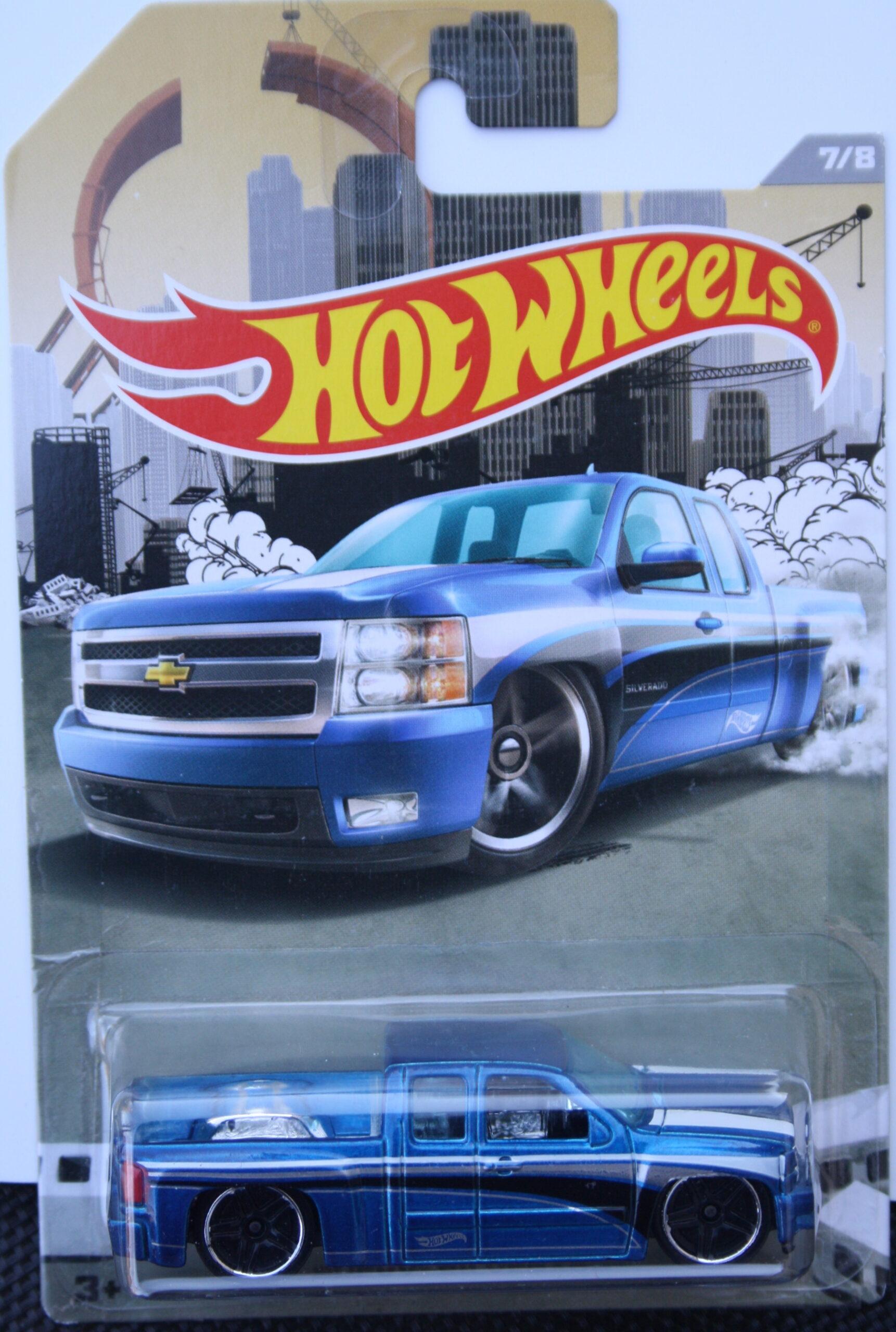 Hot Wheels Ford 1972 Silverado - Blue 1:64