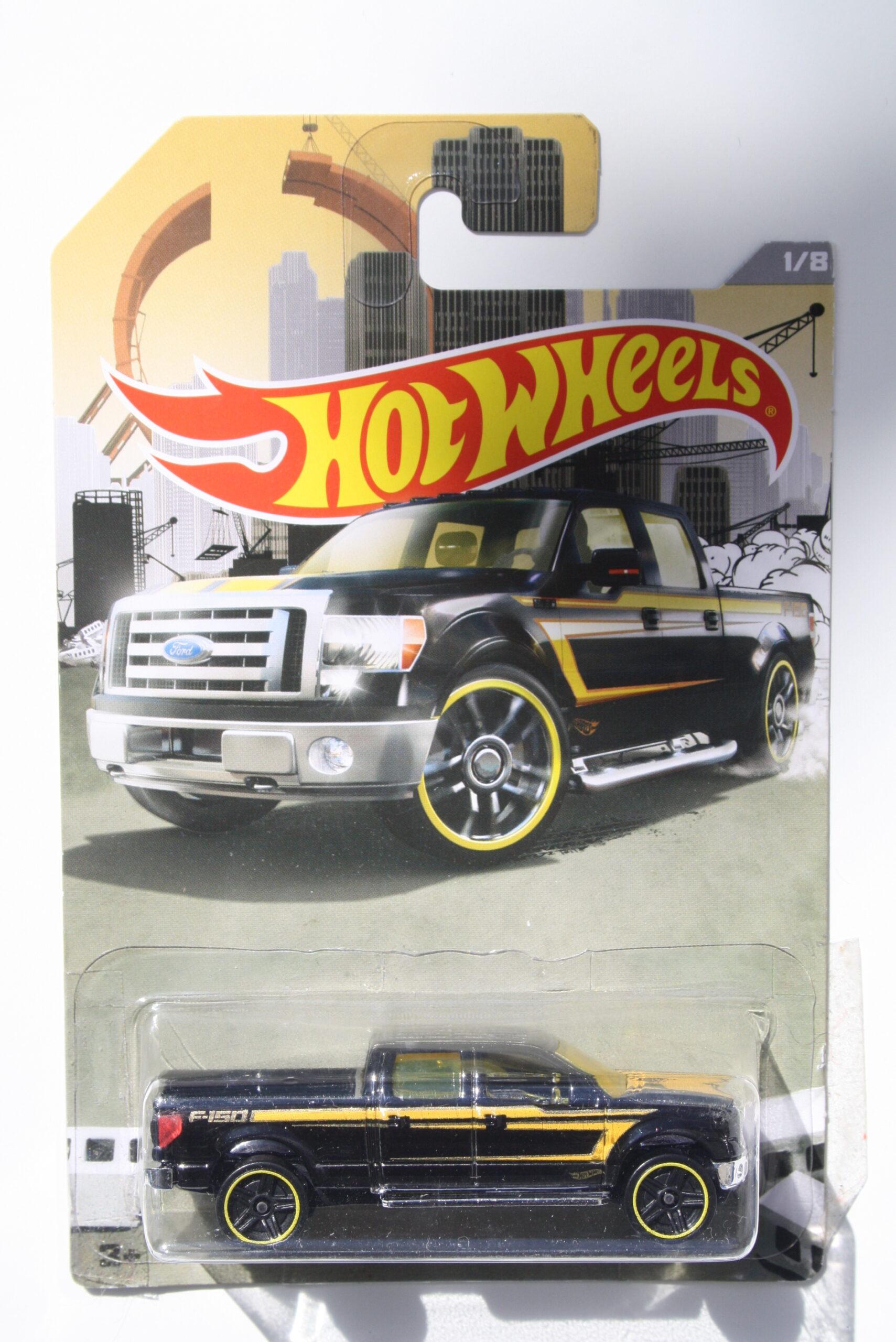 Hot Wheels Ford 2009 F150 - Black 1:64