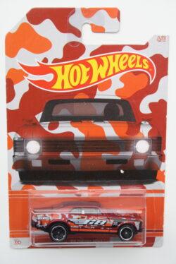 Hot Wheels Chevrolet 1968 Nova - Red Camouflage 1:64