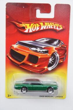 Hot Wheels Mercury 1968 Cougar - Green 2007 Exclusive assortment 1:64