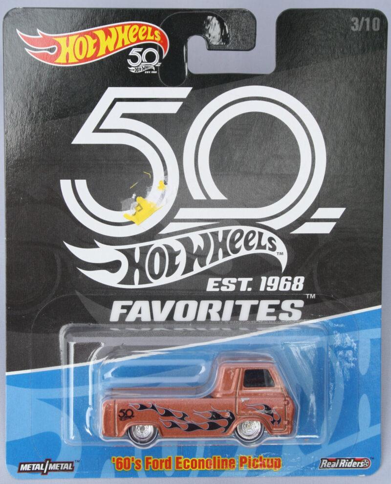 Hot Wheels Ford 60s Econoline Pickup - Realriders 1:64