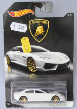 Hot Wheels Lamborghini Estoque - White 1:64