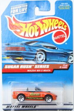 Hot Wheels Mazda MX-5 Miata - Reese - Orange 1:64