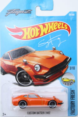Hot Wheels Datsun Custom 240Z - Orange 1:64