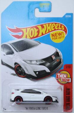 Hot Wheels Honda 16 Civic Type R - Blister is glued - White 1:64