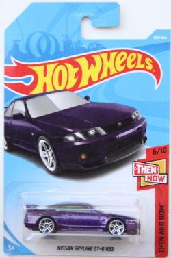 Hot Wheels Nissan Skyline GT-r R33 - Purple 1:64