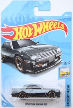 Hot Wheels Nissan 82 Skyline R30 - Grey 1:64
