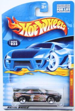 Hot Wheels Toyota MR2 - Kung Fu - Black 1:64