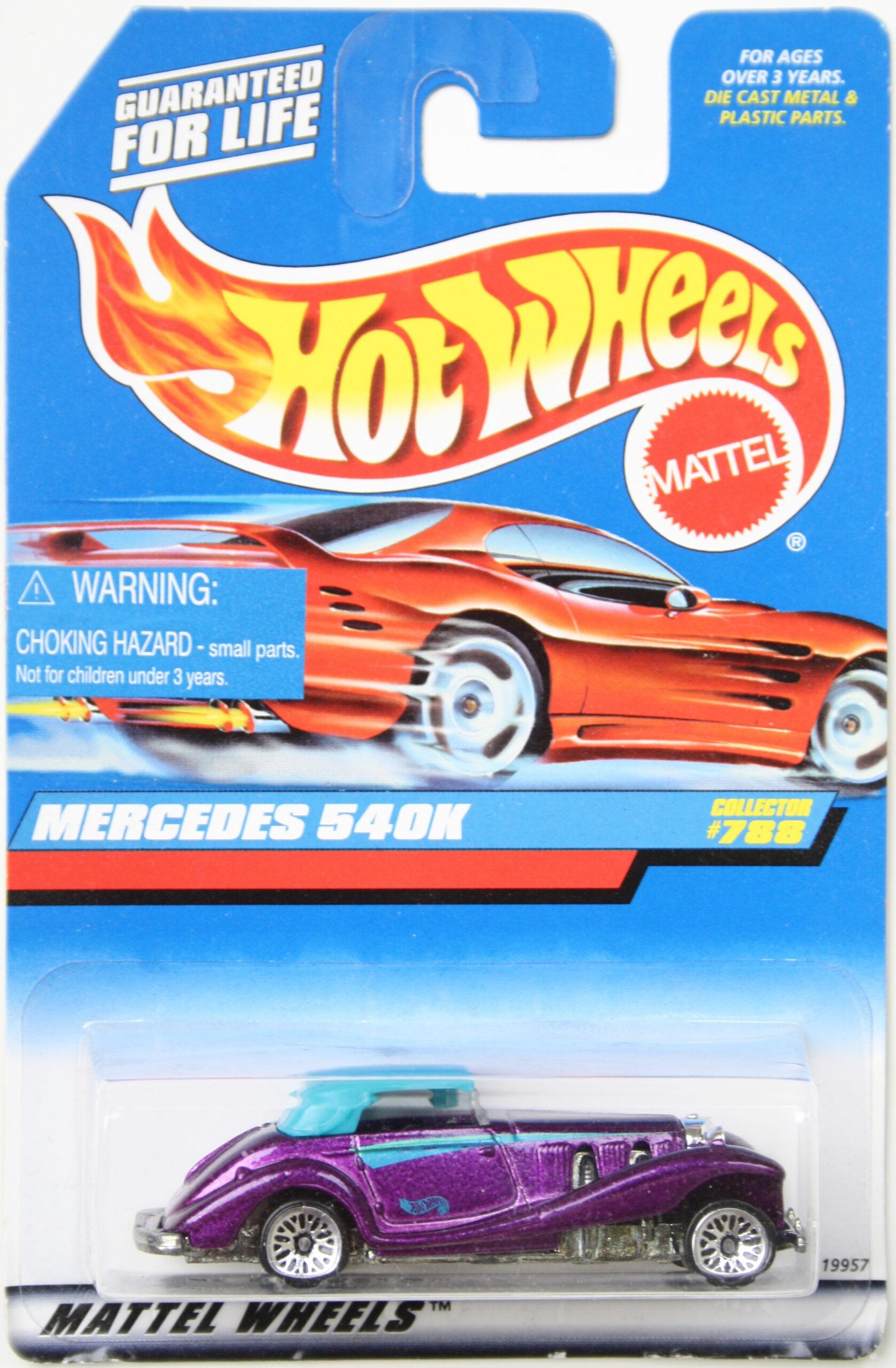Hot Wheels Mercedes 540K Purple