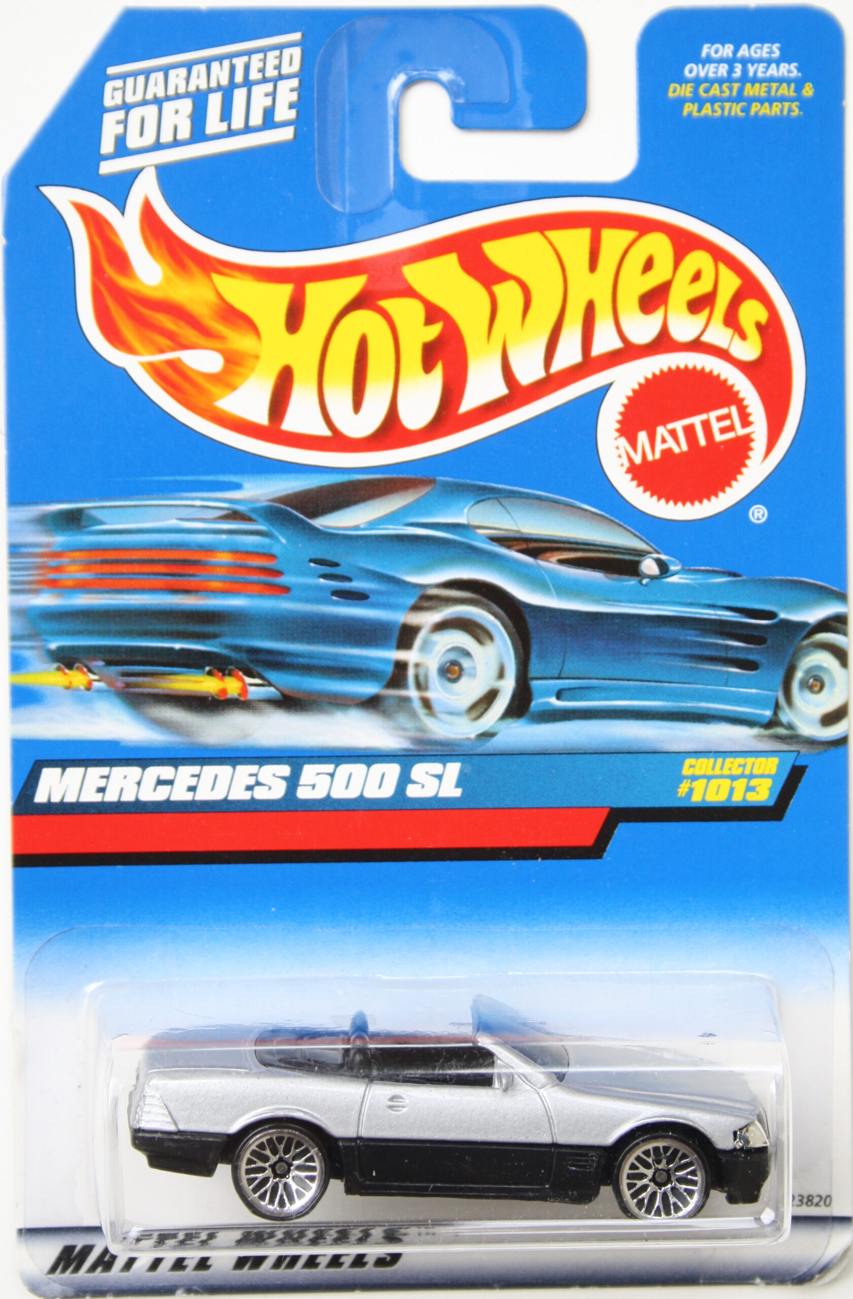 Hot Wheels Mercedes 500 SL grey