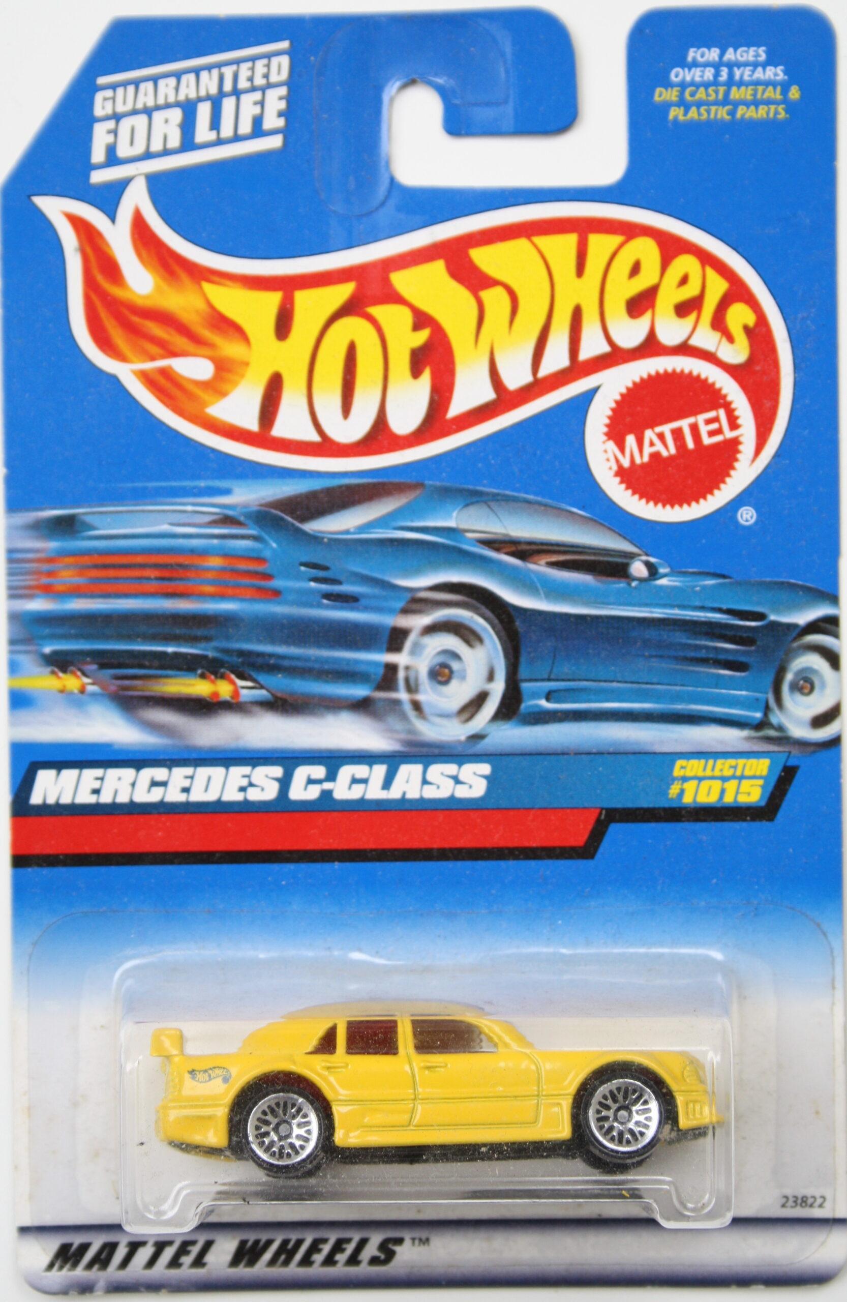 Hot Wheels Mercedes C-class yellow