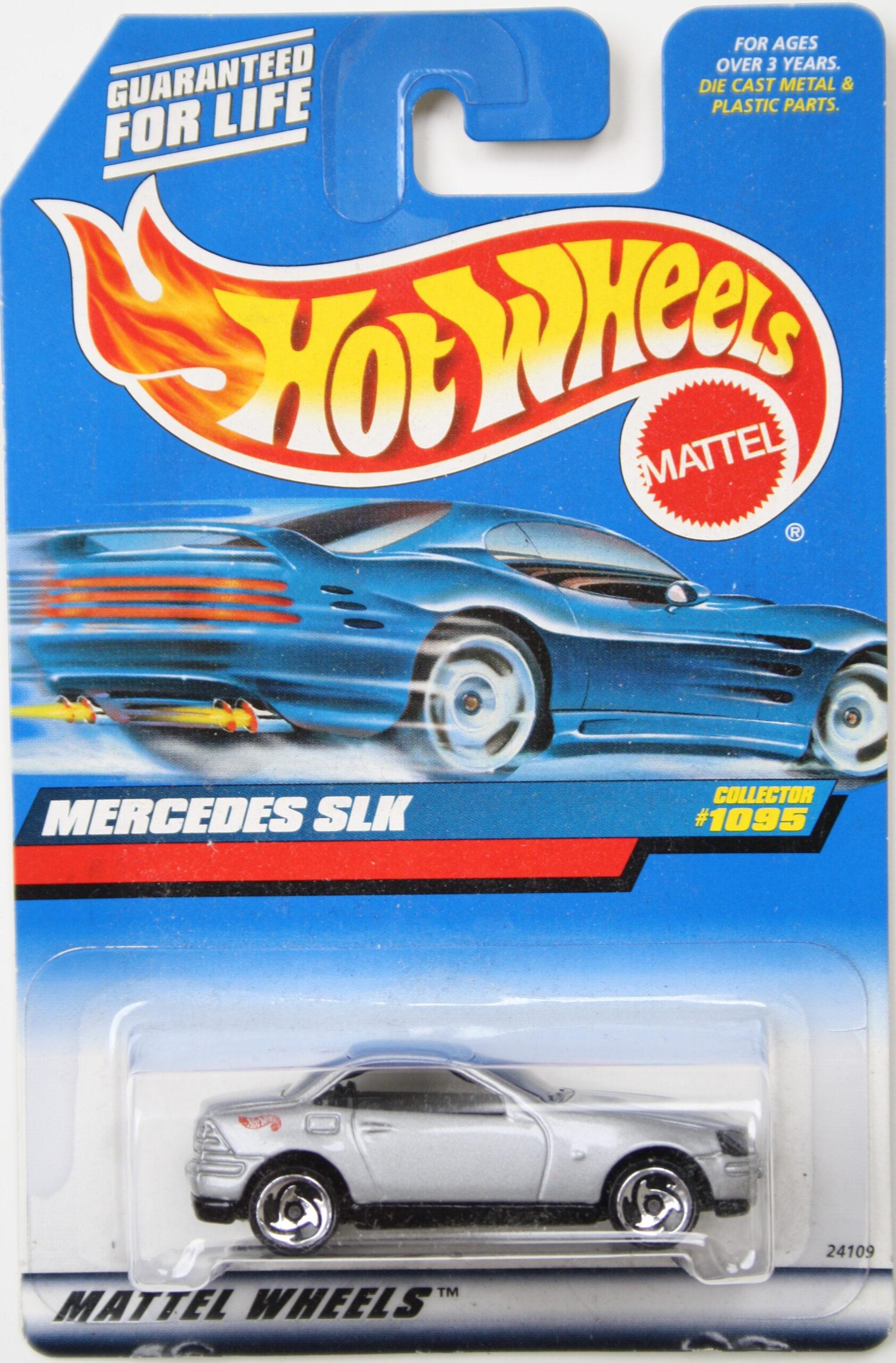 Hot Wheels Mercedes SLK grey