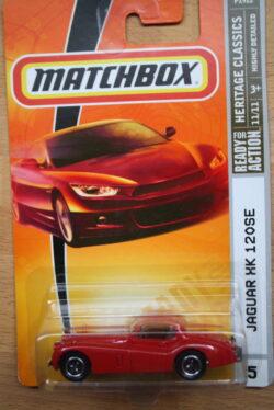 Matchbox Jaguar MK 120SE - Red 1:64