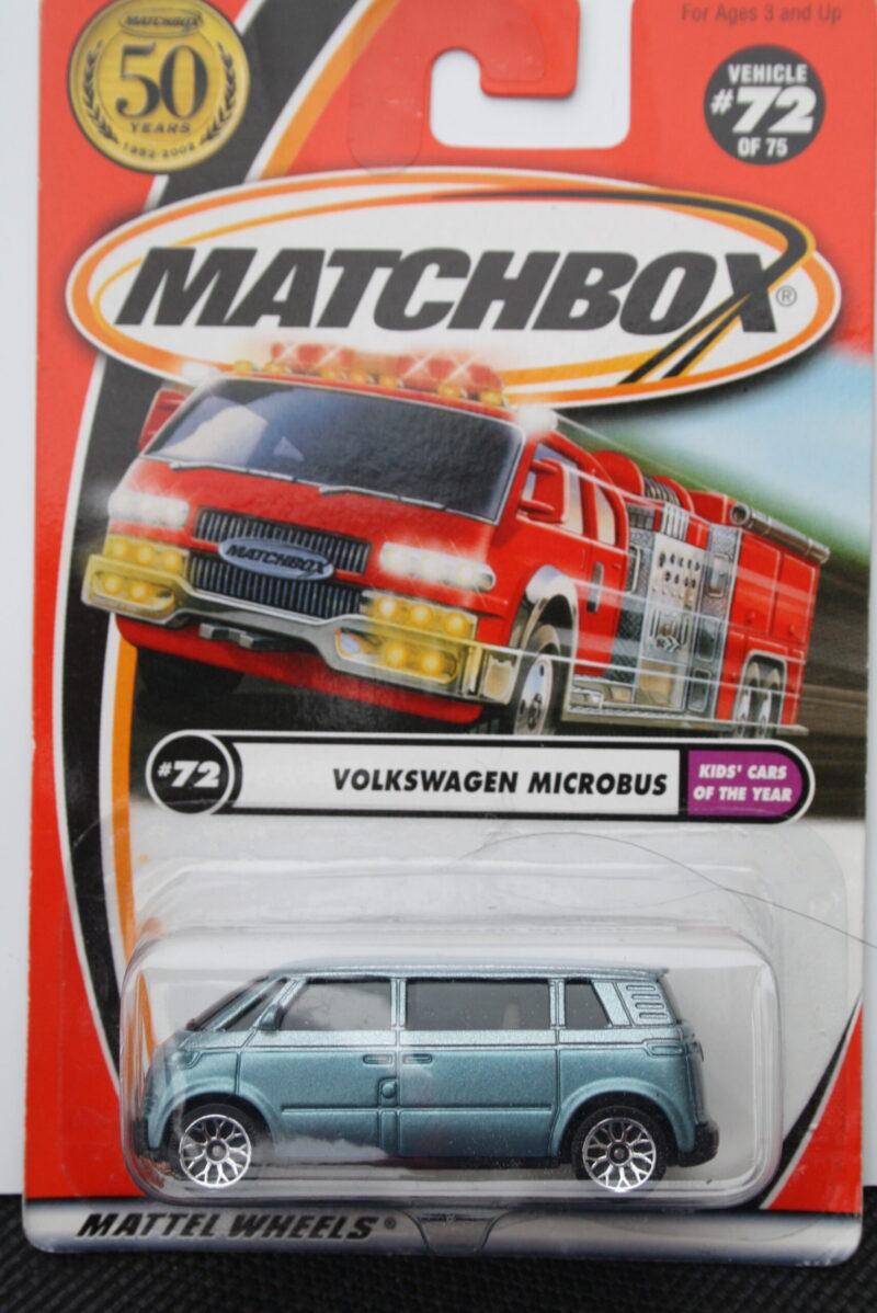 Matchbox Volkswagen Microbus - Blue 1:64