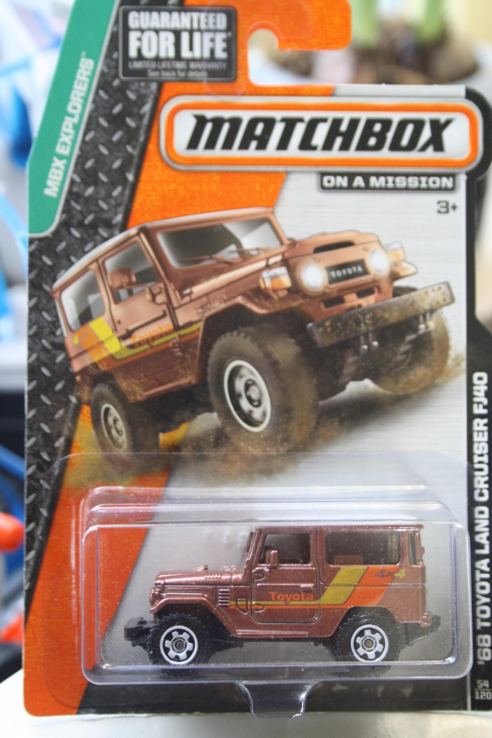 Matchbox Toyota Land Cruiser - Brown 1:64