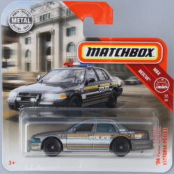 Matchbox Ford 06 Crown Victoria - Police 1:64