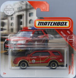 Matchbox Ford 16 Interceptor Utility - red 1:64