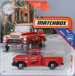 Matchbox GMC 57 Stepside - Red 1:64