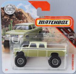 Matchbox Dodge 68 D200 - Green 1:64