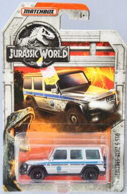 Matchbox Mercedes Benz 2014 G550 - Jurassic Park 1:64