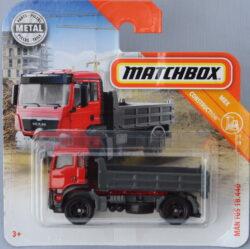 Matchbox MAN TGS 18440 - Red 1:64