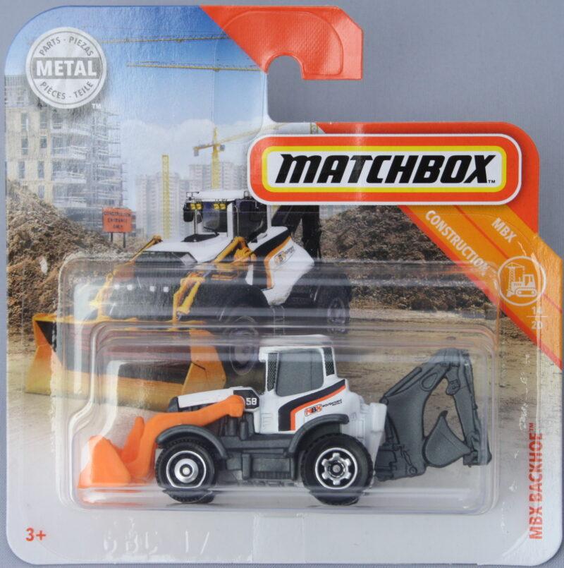 Matchbox MBX Backhoe - 1:64