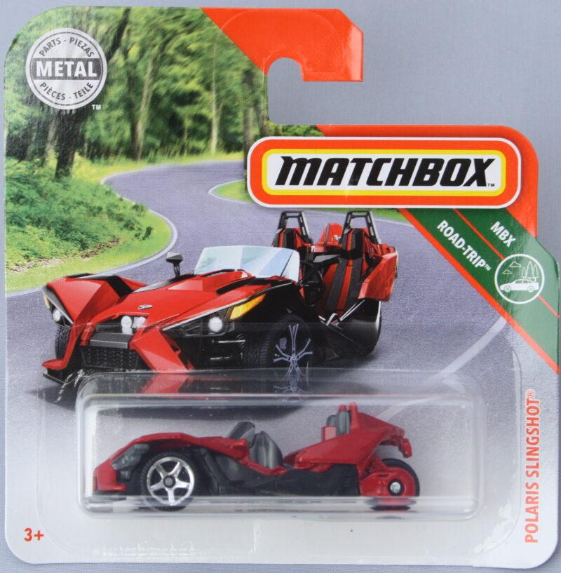 Matchbox Polaris Slingshot - Red 1:64