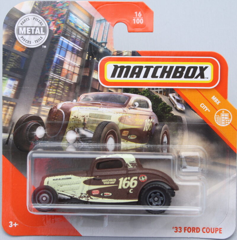 Matchbox Ford 33 Coupe - Brown 1:64