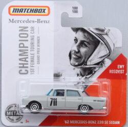 Matchbox Mercedes-Benz 220 SE Sedan - Ewy Rosqvist 1:64