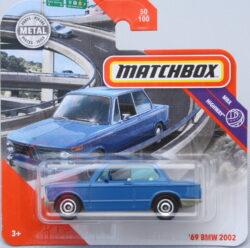 Matchbox BMW 69 2002 - Blue 1:64