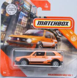 Matchbox Volkswagen Golf Mk1 - Orange 1:64