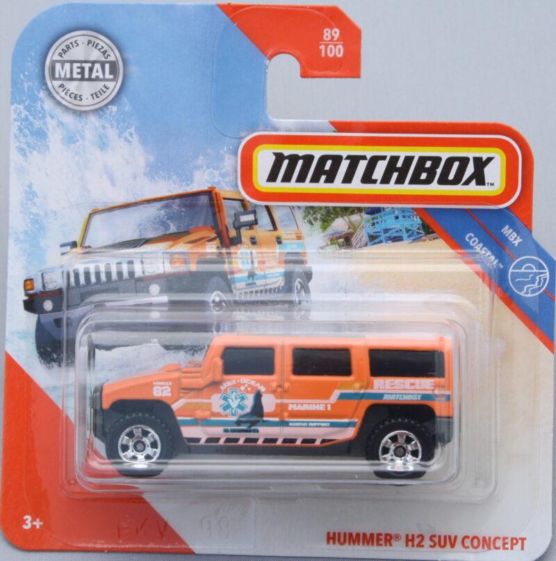 Matchbox Hummer H2 SUV Concept - Orange 1:64