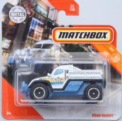 Matchbox Road Raider White 1:64